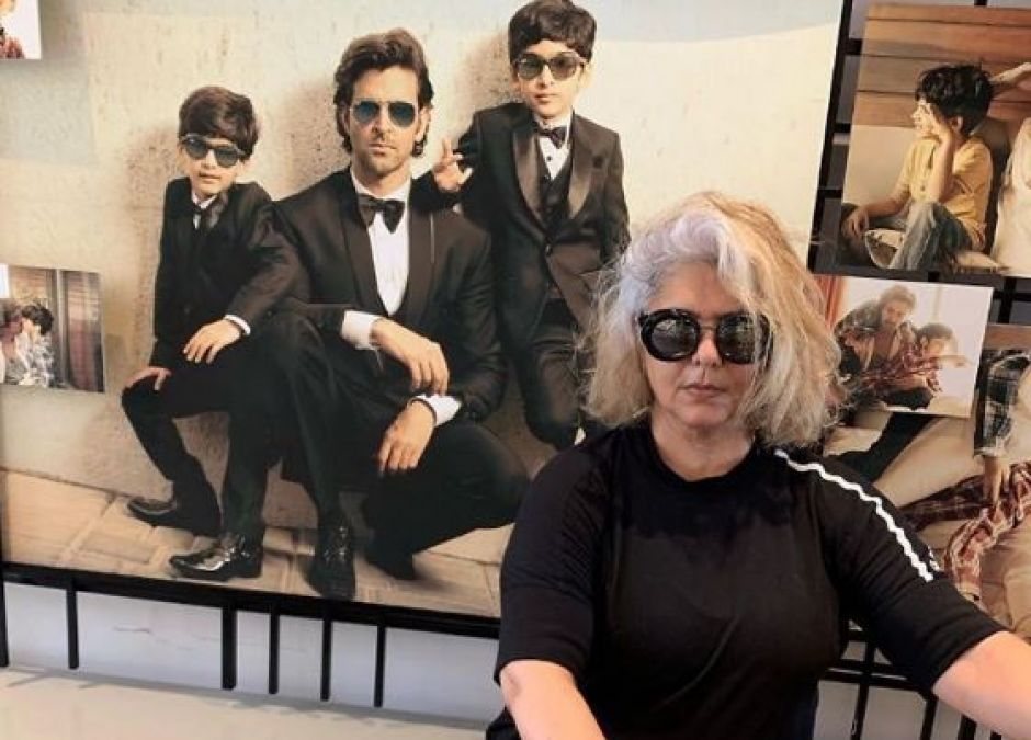 Video: Hrithik Roshan's mother is no less than a fitness freak!