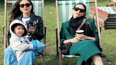 Kapoor sisters enjoy holidays in London!