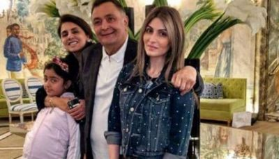 Father's Day: Riddhima meets Father Rishi Kapoor in America, check out pic here