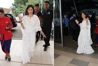 People at the Mumbai airport will be shocked to see Sridevi; Janhvi looks too similar!