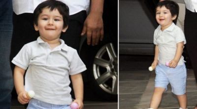 Way Taimur danced on the victory of India will win your hearts, check out the pic here