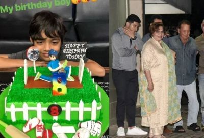 Check out the pic of specia birthday cake of Sohail Khan's son