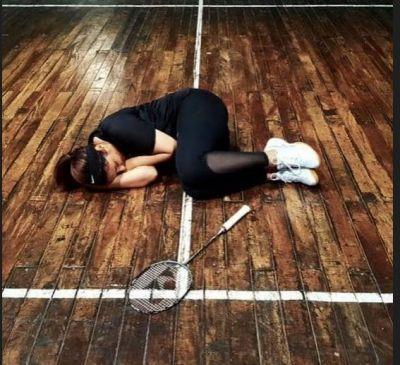 Parineeti Chopra practises badminton for hours!