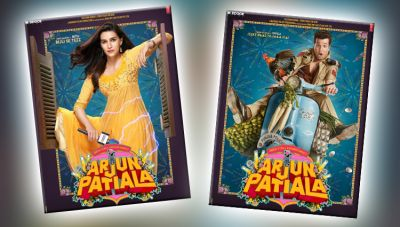 Arjun Patiala Poster: First poster of Kriti Sanon-Diljit's film released!