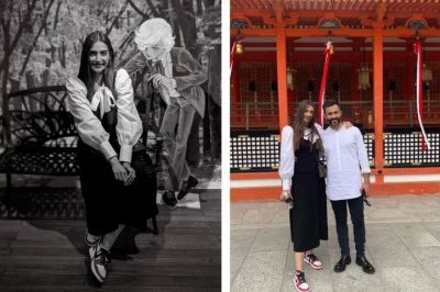 पति संग जापान में छुट्टियां मना रही सोनम, फैन बोले-अपना ख़याल रखना