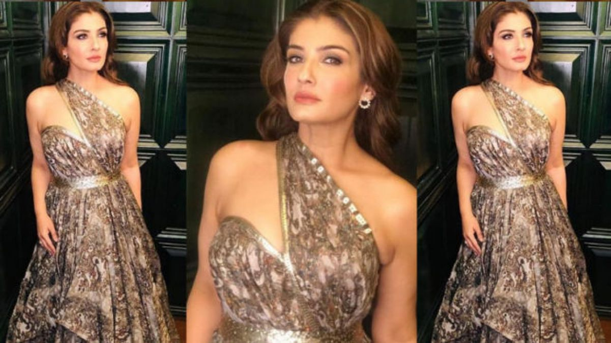 Raveena Tandon is quite hot today, watch the video!