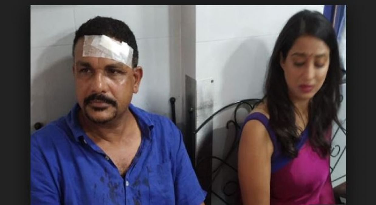 Dev D actress Mahie Gill attacked by goons during the shoot of their web series