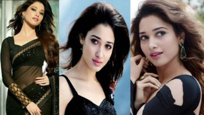 Tamannah Bhatia looks Beautiful in a black gown; watch the video!