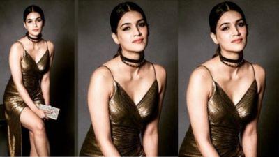 Video: Kriti Sanon looks too stylish and sexy!