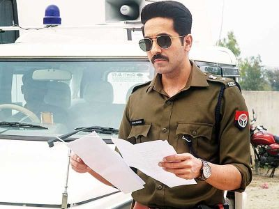 Article 15:  Ayushman's dream fulfils; Seen in the Roll of the daring Policeman