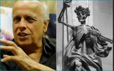 Mahesh Bhatt shares photo of skeleton, users say, 'You are making fun of Sushant's death'