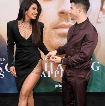 Priyanka commented on this photo of her rockstar husband; see!