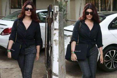 Akshay's wife looks quite beautiful outside the salon, check out the pic here
