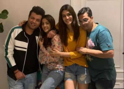 'Arjun Patiala's' crew celebrated the trailer