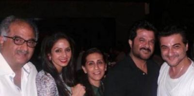 Anil Kapoor's wife shares photo with Sridevi, Fans get emotional