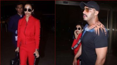 Arjun Kapoor arrives in U.S. with Malaika to celebrate birthday, spotted at airport