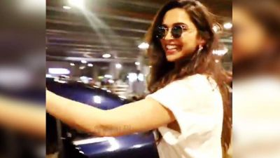 VIDEO: The photographer at the airport did this job, Deepika said- Come sit down!