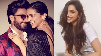 Again Ranveer falls for Deepika's photo; writes this!