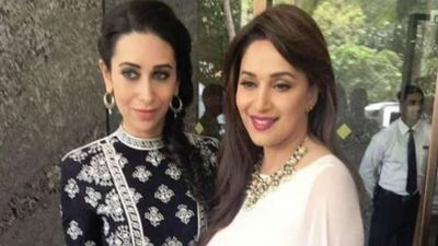 Madhuri greeted Karisma on her Birthday saying,