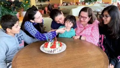 Karisma celebrated birthday with family, photos came to the fore