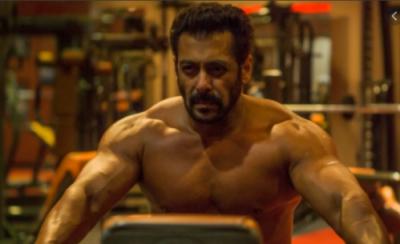 Salman Khan drops shirtless post-workout picture