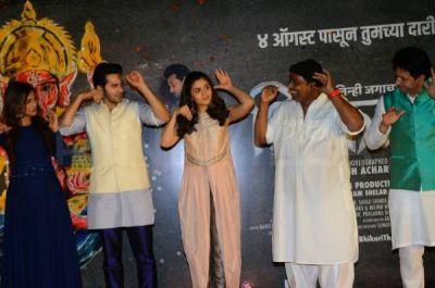 आलिया-वरुण ने 'भिकारी' के म्यूजिक लॉन्च पर मचाया उत्पात