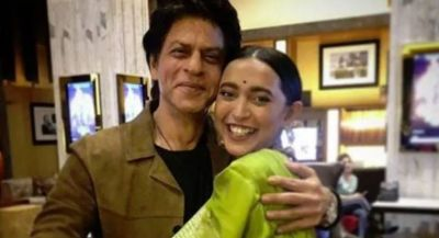 This actress got delighted to see SRK; wrote an emotional post