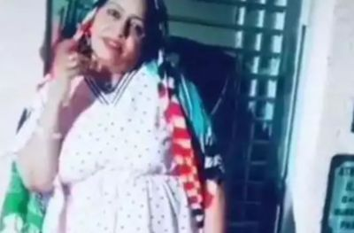 This Time it's not Sapna but her mother, who dances fiercely; see video!