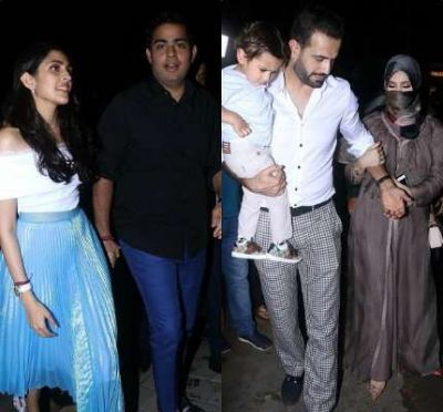 Ambani Family's Daughter-in-law Seen With Husband Akash, See Photos Of Other Couples