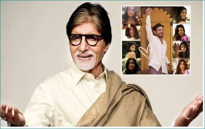 Big B is happy with these actress' dance, praises fiercely