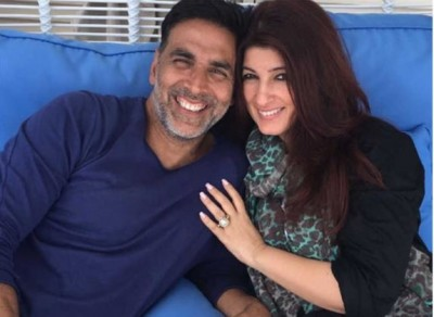 Twinkle Khanna's reaction Akshay's helicopter stunt