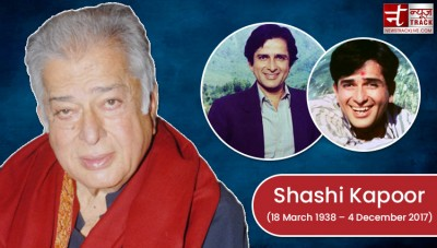Shashi Kapoor known as 'Handsome Kapoor', also noted in Hollywood