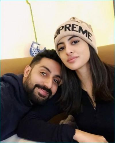 Abhishek wishes his sister on her birthday by sharing childhood photo