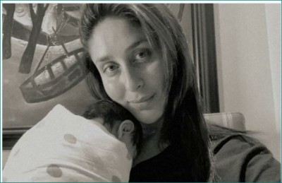 Kareena shares picture of her newborn munchkin with a sweet caption