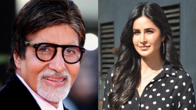 Katrina can be seen in a comedy film with Amitabh