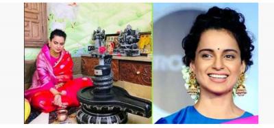 Kangana worships on her birthday, sister Rangoli shares video