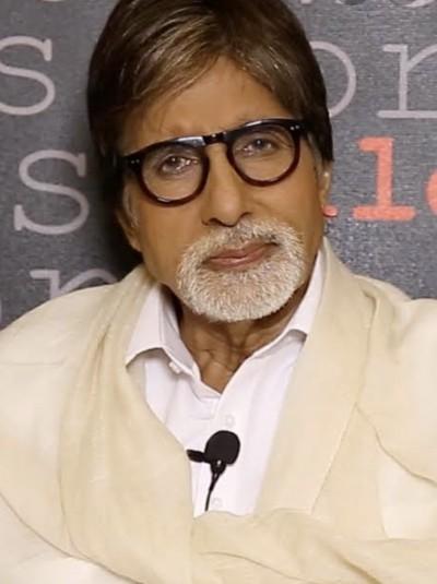'Coronavirus lingers on human excreta 'Amitabh Bachchan quotes a research
