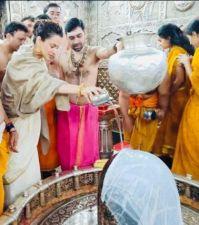 भात पूजा करने उज्जैन पहुंची कंगना, पीएम मोदी को बताया अपनी पसंद