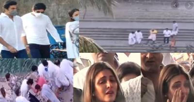 Rishi Kapoor's ashes immersed in Banganga in Mumbai, Alia Bhatt bid tearful adieu