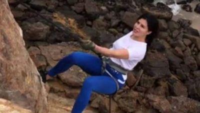 VIDEO : जैकलीन के फैंस हैरान, समंदर किनारे किया खतरनाक स्टंट