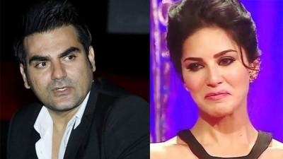 When Sunny Leone started crying in front of everyone because of Arbaaz Khan, know what the whole matter is?