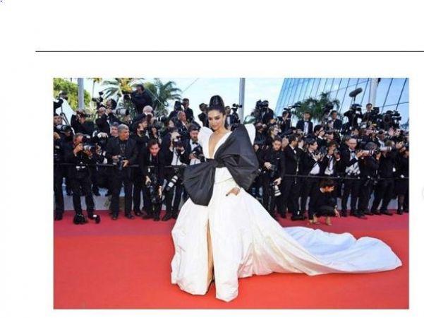 Cannes 2019: दीपिका का लुक देखकर पागल हुए उनके पति, किया दिल छू लेने वाला कमेंट