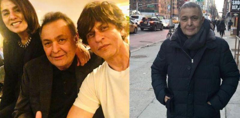 ऋषि कपूर से मिलने न्यूयॉर्क पहुंचे शाहरुख़ खान...