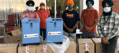 Twinkle Khanna sent oxygen concentraters to Delhi-Punjab