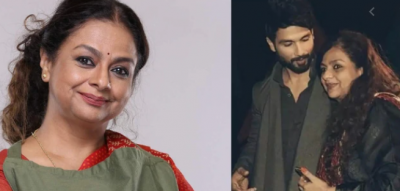 Shahid Kapoor's mother spoke on divorce with Pankaj Kapoor for first time