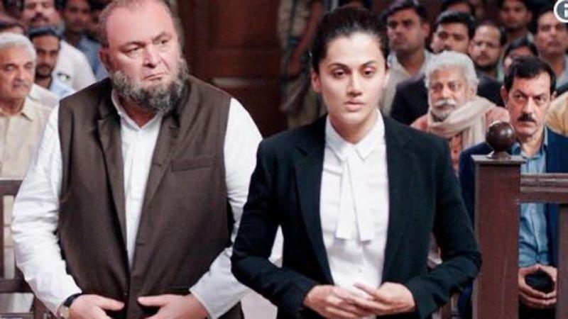 तापसी पन्नू ने शेयर किया फिल्म 'मुल्क' का फर्स्ट लुक