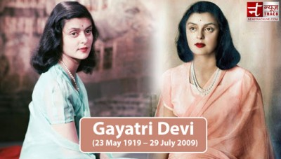 Not only Bollywood's Big B but Also King Khan was obsessed with Gayatri Devi's beauty