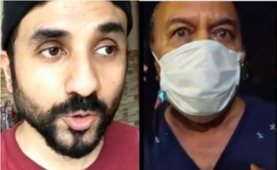 This actor sneezed on by neighbor for not wearing mask