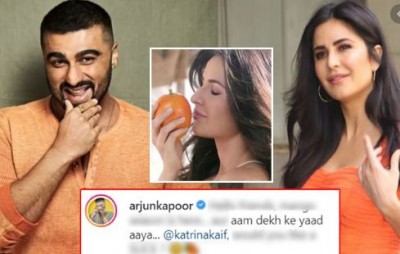 Arjun Kapoor teases Katrina Kaif by sharing mango's picture