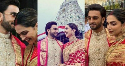 Ranveer used to give flowers every day to Deepika, father said this